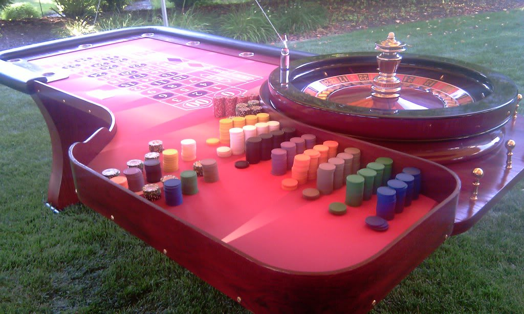 Roulette Table for Rent